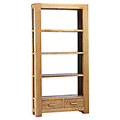 Thorndon Block Large Bookcase in Natural Matured Oak
