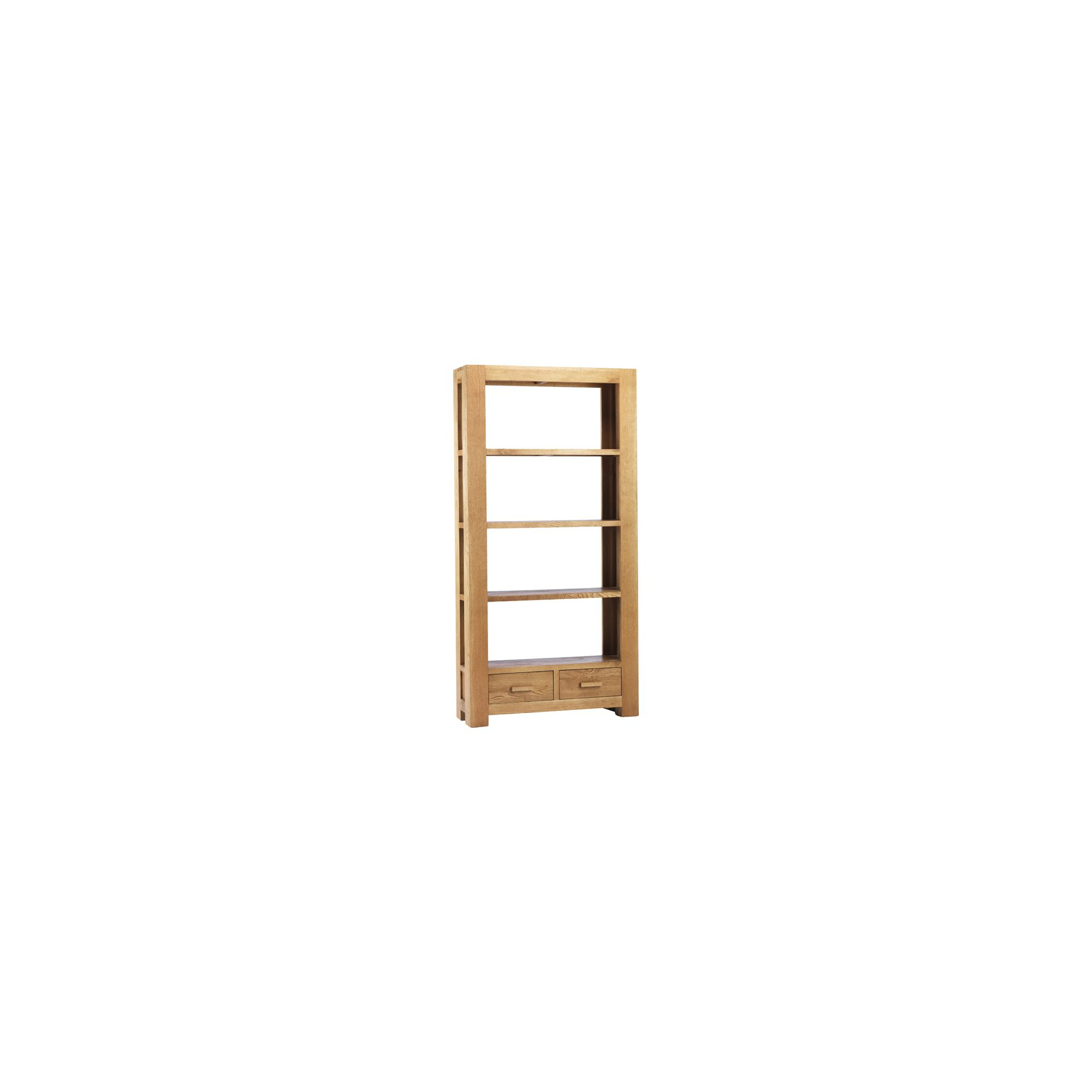 Thorndon Block Large Bookcase in Natural Matured Oak at Tesco Direct