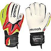 Reusch Waorani Pro S1 Ess Junior Goalkeeper Gloves - Red