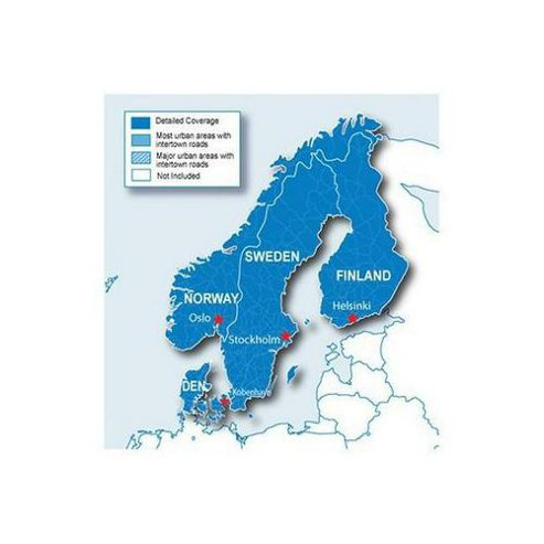 GARMIN DATA CARD. SCANDINAVIA 2010