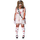 Zombie Prom Queen Costume (Plus Size)