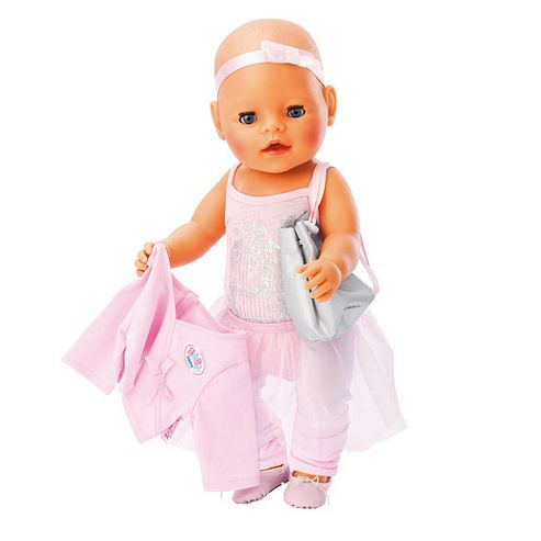 MGA Entertainment Baby Born Ballerina Training Outfit
