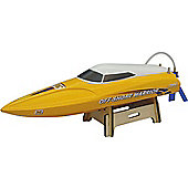 Joysway Offshore Warrior 2 RTR RC Boat - Yellow/2.4GHz