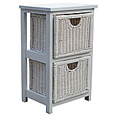 Wicker Valley 2 Drawer Unit