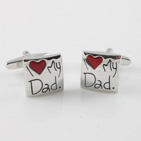 Maze I Love My Dad Cufflinks