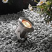 Garden Lights Arigo 1 Light Spotlight in Stainless Steel