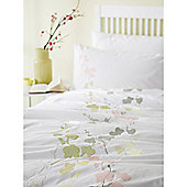 Linea Free Spirit Super King Duvet Cover Set In White