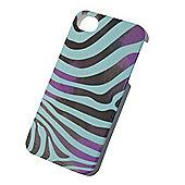 Tortoise™ Look Hard Protective Case, iPhone 4/4S, Black/Green