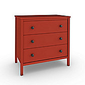 Sugar & Spice Chest of Drawers - Red