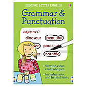 Usborne Grammar and Punctuation Excercise Cards