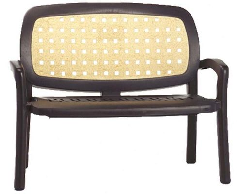 Nardi Arena Bench in Coffee