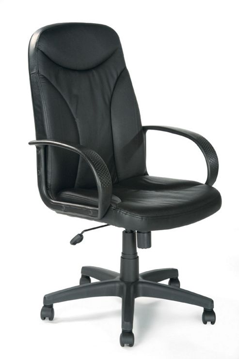 Eliza Tinsley Managers High Back Leather Faced Executive Armchair