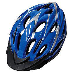 Activequipment Bike Helmet, Blue 54/58cm