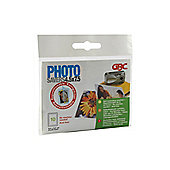 Acco GBC Laminating Pouch Photo Savers 45x75mm Self-Seal Clear Pack of 10 EY11000