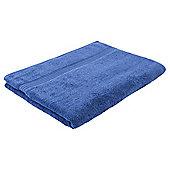 Tesco Hygro 100% Cotton Bath Sheet, Sapphire
