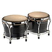 A-Star Latin Wood Bongo Pair - Black