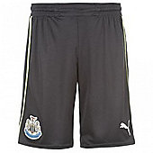 2012-13 Newcastle 3rd Puma Football Shorts (Kids) - Black