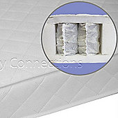 Nursery Connections Starr Pocket Spring Cot Bed Mattress 139x69cm