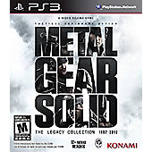 Metal Gear Solid The Legacy Collection 1987 - 2012 - PS3