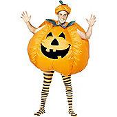 Adult Inflatable Pumpkin Halloween Costume