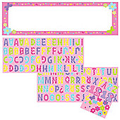 One Derful Girl Giant Personalised Banner (each)