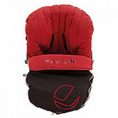 Jane Moom Car Seat Footmuff (Scarlet)