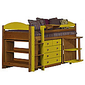 Maximus Mid Sleeper Set 1 Antique With Lime Details