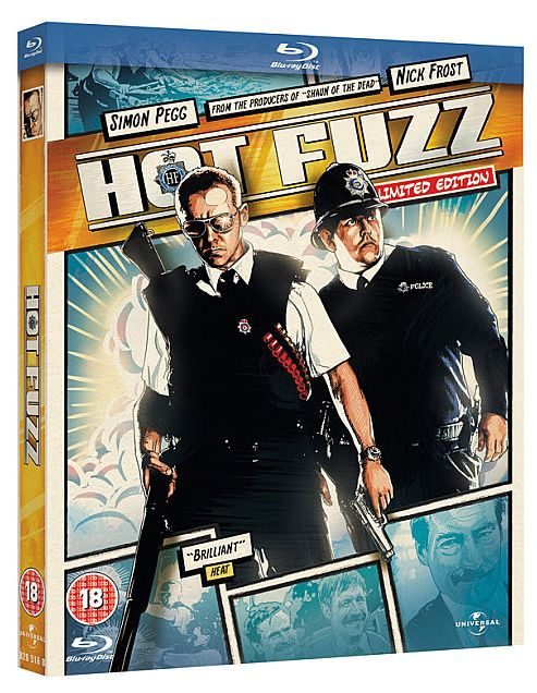 Hot Fuzz Blu-Ray (Reel Heroes)