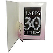 Chocolate 30th Birthday Card