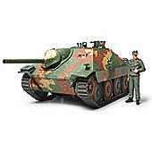 Hetzer Mittlere Production German Tank Destroyer - 1:35 Scale Military - Tamiya