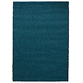 Tesco Alpine Shaggy Rug Soft Teal 160X230Cm