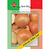 Onion 'Ramata di Milano' - Vita Sementi® Italian Seeds - 1 packet (1400 onion seeds)