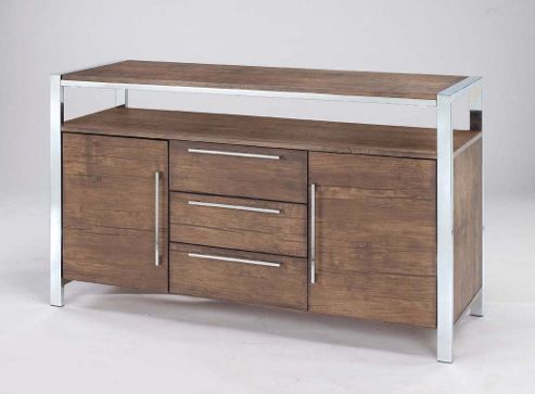 Home Zone Amari Sideboard in Walnut