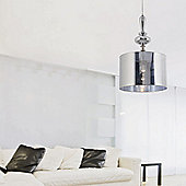 Faro Quo One Light Hanging Pendant in Chrome