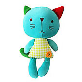 "Kimber Kids 12"" Katy Cat Musical Beanie Baby Toy"