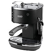 DeLonghi Vintage Icona Pump Espresso Coffee Machine - Matt Black