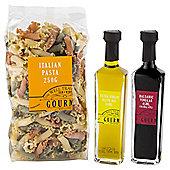 Gourmet Mediterranean Pasta and oil set