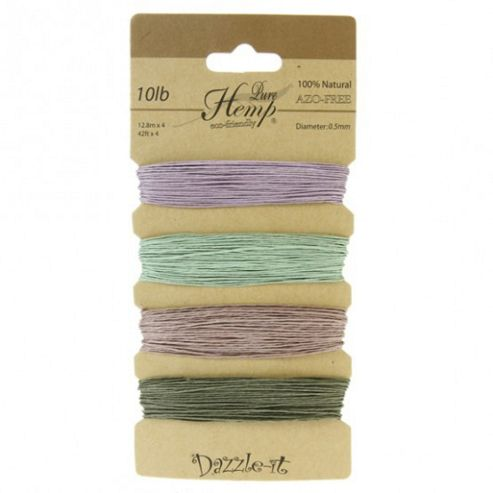 Pure Hemp 0.5mm Vintage Colours