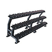 Bodymax Zenith Dumbbell Rack - 3 Tier 15 Pairs