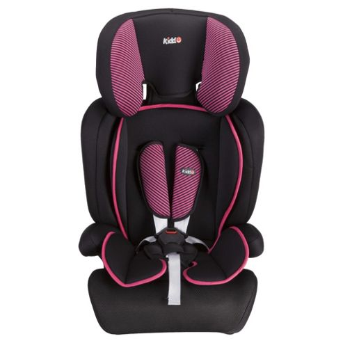 Kiddu Lane Car Seat, Pink (Group 1-2-3)