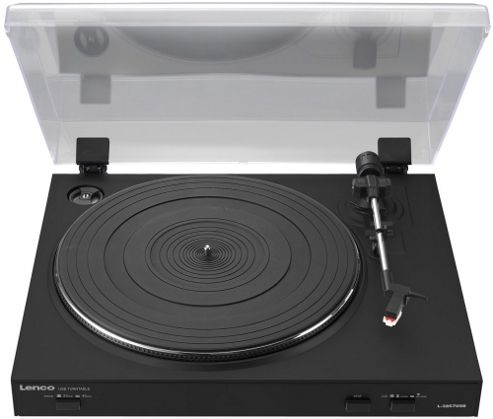 LENCO L3867 LP TURNTABLE WITH USB OUTPUT