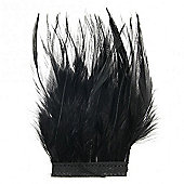 Feathers - Hackle Kreutz Fringe - Black