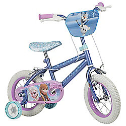 "Disney Frozen 12"" Kids' Bike with Stabilisers"