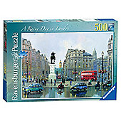Ravensburger Rainy Day in London 500-Piece Jigsaw Puzzle