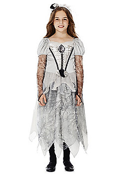 F&F Halloween Corpse Bride Dress-Up Costume - Silver