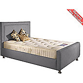 Valufurniture Calverton Bed Frame - Silver - Single 3ft