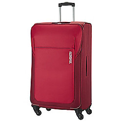 American Tourister San Francisco 4-Wheel Suitcase, Red Large