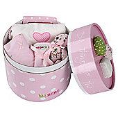 Minene 4 Piece Gift Set Pink  White