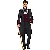 Gothic Vampire - Adult Costume 18+