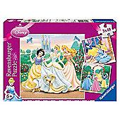 Disney Princess 3 x 49 piece puzzles in a Box